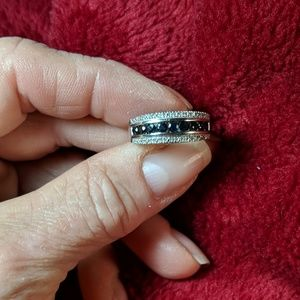 Jewelry - White Gold/Sapphire/Diamond Ring